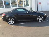 BLACK MERCEDES SLK FOR SALE!! TOP SPEC!! QUICK SALE!