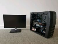 Watercooled Gaming PC and 22' Monitor (i5-2500k 4.2ghz, Powercolor pcs+ R9 290)