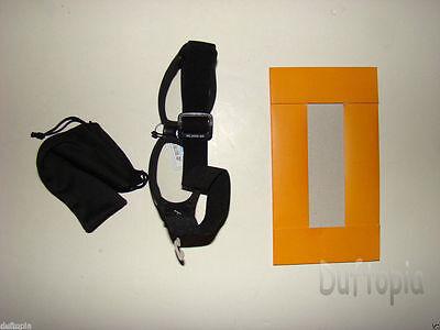 Harley Davidson Black Plastic UV ansi 400 Goggles case and gift box -NIB..