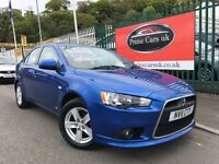 2011 (11 reg) Mitsubishi Lancer 2.0 DI-D GS2 5dr 6 Speed Manual Turbo Diesel