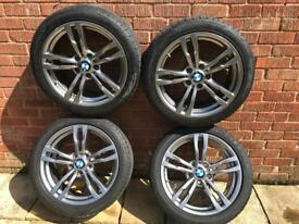 "Bmw 19"" 400m alloys"