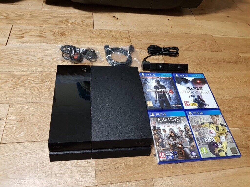 PS4 1tb black ***bundle***