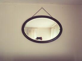 Vintage Mirror on Chain. Very nice peice