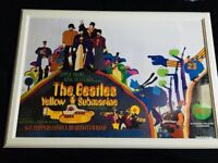 BEATLES YELLOW SUBMARINE POSTER FROM THE FILM OF THE SAME NAME