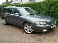 2003 53 VOLVO V70 D5 SE**AUTOMATIC**FSH*H+EL-LEATHER*EL-PACK*MINT COND'N*#AUDI#BMW#V50