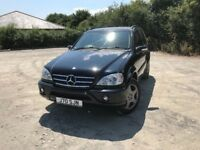 Mercedes Benz ML500 AMG 7 seater