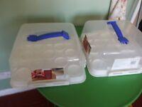 Klipfresh cake/cupcake storers