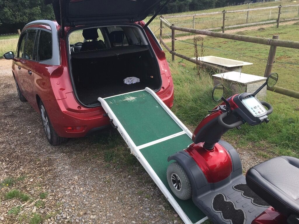 folding car ramp for mobility scooter or wheelchair in fareham