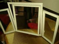 Three piece fold out Mirror