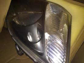 Civic Type R front headlights
