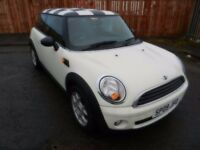 2009 MINI HATCHBACK 1.4 3 DOOR**** ONE OWNER ++++ LOW MILEAGE*****