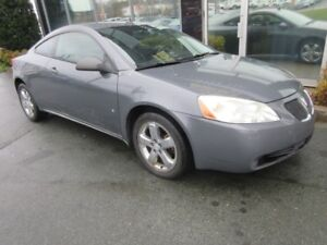 2008 Pontiac G6 GT COUPE WITH ONLY 75K! LEATHER & ALLOYS