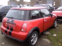 FOR PARTS - BMW MINI ONE R50 R56 1.6 1.4 W10B16 N12B14 MANUAL - SPARES