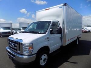 FORD E-450 CUBE 16 PIEDS AVEC RAMPE 2015