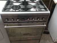 Electric Smeg Cooker Stainless steel.....Mint Free Delivery