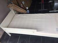 Ikea Sniglar wooden Junior Bed, 70x160 With mattress. Needs to go asap.