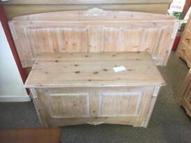 Marks & Spencer limed oak blanket box * free furniture delivery *
