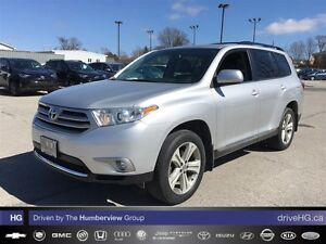 2013 Toyota Highlander V6 (A5) | NO ACCIDENTS | LOCAL | LEATHER