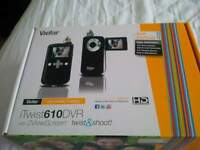 iTwist610 Digital Camcorder with Camera with 2 view screen twist and shoot