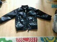 Leather jacket John Rocha size 3-4