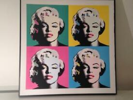 Picture Modern Contemporary Marilyn M 70 x 70 cm