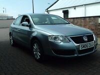 2006 06 VOLKSWAGEN PASSAT 1.6 FSI 6 SPEED GEARBOX ** NEW SHAPE ** MOT MAY 2018 **