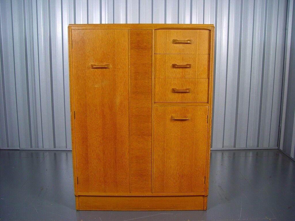 Vintage G Plan Gentleman's Tallboy Retro Mid Century Furniture