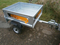 Erde 102 Small Car Trailer (4 Months Old)