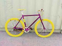 Aluminium Brand new single speed fixed gear fixie bike/ road bike/ bicycles + 1year warranty p2
