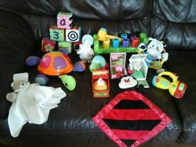 Big bundle of toddler toys