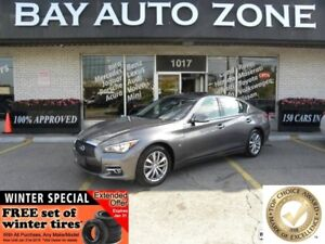 2014 Infiniti Q50 premium Pkg, Navigation, All view camera