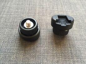 Kaiser Accessory Shoe 1/4 - Flash - Tripod Adaptor (cold shoe) x2