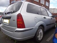ford focus 1.8 tddi diesel estate with alloys for spares or repairs