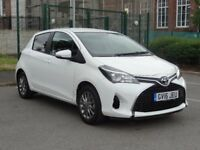 Toyota Yaris 1.0 VVT-i Icon 5dr damage salvage 2016 Only 36 miles !!! *SATNAV* BLUETOOTH* CAMERA*