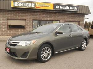 2012 Toyota Camry LE upgrade w/ leather
