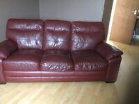 free, Italian soft leather sofa