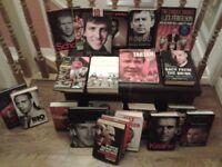 ManchesterUnited books including various biographys