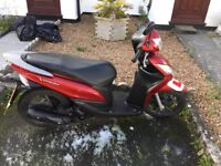 Honda Vision Scooter 108cc plus accessories