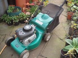 Qualcast Petrol Mower (full working order) Hardly Used