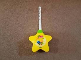 TOMY FIRST YEARS STARLIGHT MUSIC & LIGHT PROJECTOR YELLOW