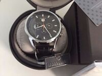 New Swiss Tag Heuer Carrera CHRONOGRAPH MOVEMENT Watch, LEATHER STRAP