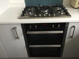 CDA Built under double oven