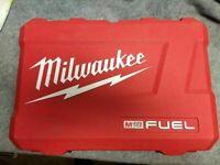 Milwaukee M18 FUEL 18V kit Hammer Drill Impact 2997-22 2999-22 Hard case only