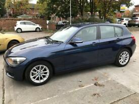 Bmw 116D 5 Dior hatchback 2012 12 reg in gleaming purple