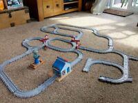 Plastic train track