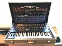 Vintage KORG Mono/Poly with MIDI, Original Carry Case & Collectable Soundboard