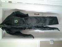 Fishing suit , size L , worn twice so as new , waterproof and padded with hood.