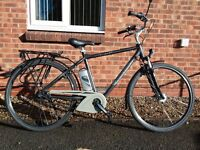 Raleigh gents electric assist bike