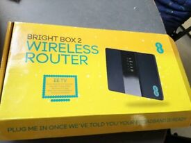 Wireless router, as new, EE. (1)
