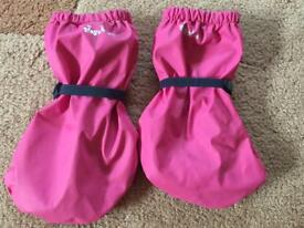 Playshoes Pair of Rain Booties with Fleece-Lining